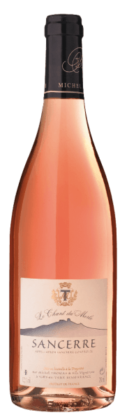The Sancerre Rosé AOC by Domaine Michel Thomas from the French Loire Valley, shows a bright salmon pink in the glass and a fine scent of raspberries and pomegranate. On the palate, this rosé wine is full-bodied, fruity, delicate and with pleasant acidity. Succulent aftertaste. Vinification of Sancerre Rosé by Domaine Michel Thomas The vineyards of the Domaine Thomas stretch over the three municipalities of Sury-en-Vaux, Verdigny and Saint Satur, Pinot Noir is cultivated for the red and rosé wine. The area is characterized by three different types of terroirs - lime, stone and firestone - which give this Sancerre Rosé its character. Food pairing for the Sancerre Rosé by Domaine Michel Thomas Enjoy this expressive French rose to summer salads, casseroles or goat's cheese.