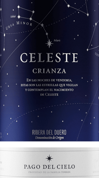 The Celeste by Miguel Torres is a pure red wine from Tempranillo grapes and is presented in the glass in a deep dark cherry red with violet reflections. This red wine has a very aromatic bouquet of juicy red and black fruits - it presents in particular heart cherries and blackberries. On the palate, too, the aromas of the nose reveal themselves and are underlined by nuances of blueberries, freshly ground pepper and liquorice with fine spice. This wine is wonderfully full-bodied and velvety soft with sweetly matured tannins, which are well integrated into the full-bodied body. The finale is wonderfully spicy-aromatic and long-lasting. Vinification of Miguel Torres Celeste Crianza The harvesting by hand is carried out in September. In the winery, the grapes are first cold-mashed and fermented within one week at a controlled temperature of 25 to 30°C in a stainless steel tank. After the total mashing time, the biological acid degradation takes place in oak barrels. The red wine matures for two months on the fine yeasts and is aged for twelve months in American and French oak barrels. Food recommendation for the Celeste Crianza by Miguel Torres The Miguel Torres Celeste Crianza goes perfectly with strong meat dishes such as braised lamb with Mediterranean herbs, beef from the grill or game birds. Awards for Torres Celeste James Suckling: 92 points for 2015 International Wine Challenge: Silver for 2014