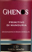 Vorschau: Ghenos Primitivo di Manduria DOC 2017 - Torrevento