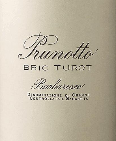 Bric Turot Barbaresco DOCG 2016 - Prunotto von Prunotto