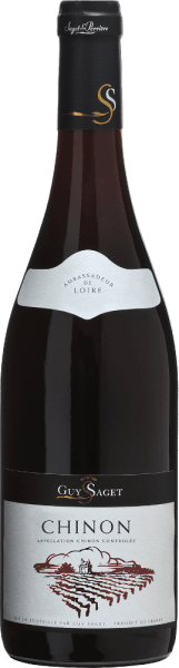 Chinon Rouge AOC 2018 - Guy Saget