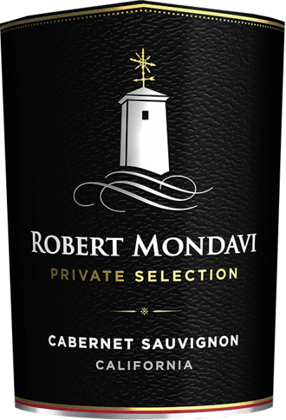 The Private Selection Cabernet Sauvignon from Robert Mondavi from the American wine-growing region California, is a wonderful, concentrated red wine cuvée from Cabernet Sauvignon (90%) and other complementary red grape varieties (10%). A deep ruby red with violet highlights shimmers in the glass of this wine. Aromatic notes of sweet ripe berries - blackberry and blackcurrant - and juicy black cherries spoil the nose. This is accompanied by filigree nuances of toast, oak wood, fine vanilla and roasted hazelnuts. Very soft and full-bodied, this American red wine convinces the palate. The soft tannins are very well structured and combine with the aromas of the nose and slightly smoky roasted aromas to a wonderful overall picture. The fresh acidity gives this wine its lively character. The finish has a good length. Vinification of Mondavi Cabernet Sauvignon Private Selection At optimal ripeness, the grapes are harvested in California and immediately taken to Robert Mondavi's wine cellar. There the grapes are first sorted, destemmed and gently ground. The mash is then fermented in stainless steel tanks at a controlled temperature of 29 degrees Celsius. After the fermentation process, the wine remains on the mash for 12 days. This wine undergoes complete biological acid degradation. This red wine is aged both in stainless steel tanks and in wooden barrels. 50% of this wine rests for 14 months in French oak barrels. Food recommendation for the Private Selection Robert Mondavi Cabernet Sauvignon This dry red wine from the USA is an excellent accompaniment to lamb chops with crunchy vegetables, roast beef in dark sauce, spicy ravioli or mature hard cheese.