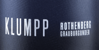 Vorschau: Rothenberg Grauburgunder trocken 2018 - Klumpp