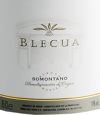 TheBlecua of Viñas del Vero is an excellent, complex red wine from the Syrah, Tempranillo, Cabernet Sauvignon and Garnacha grape varieties. This wine shimmers a deep, dark garnet red with almost opaque highlights in the glass. Gradually, complex aromas of ripe blackberries, juicy plums and cherries unfold, mineral, spicy notes and hints of cigar and chocolate. On the palate, too, this variety of aromas of the nose is revealed with a dense texture of dark fruit. The minerality and spiciness is very well integrated into the powerful, supple and well-structured body. The velvety soft tannins accompany you to the elegant, long and deep finale. This Spanish red wine has great development potential! Vinification of Viñas del Vero Blecua Blecua is the flagship winery of the Viñas del Vero winery in the Spanish DO Somontano wine-growing region. Under the carefully restored manor house there is a deep tuff cave, which is connected by tunnels to an underground lake. The most precious treasure of Vero winemakers is stored in this cool humidity. The Blecua is vinified on the winery with a lot of manual work and meticulous attention to detail. The goal from the beginning was to make the best wine in Spain. The quantities are tiny and old vintages have been out of print for years. The grape varieties used in Blecua are fermented separately in a first step and matured in French oak barrels in four different sizes. After 8 months, chief oenologist José Ferrer chooses the best barrels and marries them to his noble cuvée. This wine gets its finishing touch for a further 12 months in new barrels. Food recommendation forBlecua Enjoy this dry red wine cuvée from Spain with braised lamb with Mediterranean herbs, wild ragout with fresh noodles,duck confit on yellow lentils and medium-ripened mountain cheeses.