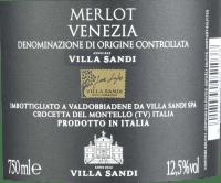 Vorschau: Merlot DOC Venezia 2018 - Villa Sandi