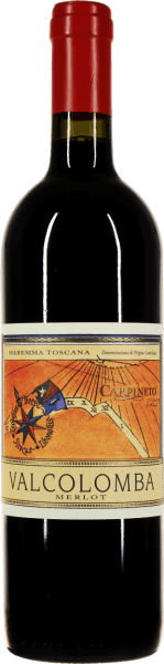 The Valcolomba Merlot of Carpineto originates in Maremma, the famous Mediterranean coastal strip of Tuscany. Pure joy brings this varietal Merlot into the glass, in which the red wine shines intensely ruby red. The bouquet delights with wine-juicy aromas of ripe cherries, blackberries and other dark berries.  On the palate, the Carpineto Valcolomba Merlot is wonderfully soft, round and elegantly structured. A small supertuscan that looks great both neat and accompanied by spicy dishes. In the finale, this Maremma mellow delights with soft tannins and a well-structured fruit acid.  How is Valcolomba Merlot vinified by Carpineto?  The Merlot grapes are mashed and macerated for 15 days. Fermentation is then carried out at 28°C and regularly surrounding the pomace and aerating the wine. After the biological acid conversion of Valcolomba Merlot, the wine is transferred to concrete tanks where it can harmonise until bottling.  What do you eat for Valcolomba Merlot?  This maremma merlot is a perfect accompaniment to grilled pork or poultry, pizza with spicy sauces and salami or roast.