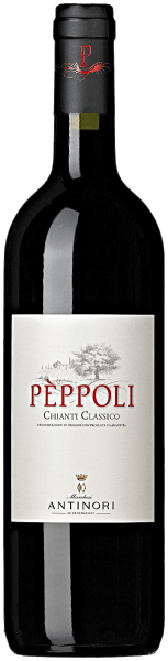 The Pèppoli Chianti Classico DOCG by Tenuta di Pèppoli is ruby red in the glass. Intense fruity notes unfold on the nose, reminiscent of cherry and red currant, complemented by floral aromas of violets and light, delicate, harmoniously integrated nuances of roasted wood. On the palate fresh, tasteful, with soft tannins, balanced structure, in the pleasant finish the aromas from the bouquet resound. Vinification of the Chianti Classico DOCG by Tenuta Pèppoli For this Chianti, 90% Sangiovese and a total of 10% Merlot and Syrah are vinified. The grapes are harvested, destemmed, pressed and transferred to stainless steel tanks, depending on the grape variety. The alcoholic fermentation takes place at a controlled temperature between 26 and 28°C in order to obtain the aromatic properties and the fruity and floral notes of the individual grape varieties. The maceration on the shells lasts for 8 to 10 days for the Sangiovese and about 15 days for the other varieties. In this way, the gentle and mild tannins are optimally obtained. After malolactic fermentation, which takes place until the end of winter, the cuvée is formed and the young wine is filled into large barrels of Slavonic oak for the 9 months of ageing, a small part is aged in stainless steel tanks. Bottling takes place just over 1 year after the grape harvest. Food recommendations for the Chianti Classico DOCG by Tenuta Pèppoli Enjoy this tasteful Chianti Classico as a companionto pizza, bruschetta, whole menus or simply to olives and capers. Awards for the Pèppoli Chianti Classico DOCG by Tenuta Pèppoli Falstaff: 91 points for 2015 Wine Spectator: 90 points for 2015 James Suckling: 92 points for 2013