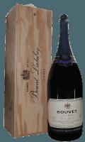 Cremant Saphir Saumur Brut 6,0 l Methusalem in wooden box - Bouvet Ladubay