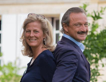 Stephan von Neippberg und seine Frau Sigweis