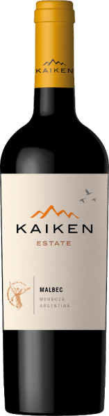 In deep purple the Montes Kaiken Malbec shines in the glass. In the nose, its rich fruit aromas unfold, reminiscent of dark berries such as blueberries and black currants, but also ripe strawberries and dried plums. They are accompanied by fine spicy and cocoa notes, pepper, coffee, vanilla and tobacco from barrique ageing. On the palate, this Kaiken red wine surprises with its soft structure and excellent balance between fleshy tannins and the intense fruit of strawberries and blueberries. Its long and intense finish once again reflects the wood aging and the unique Mendoza terroir. Cultivation and vinification of Kaiken Malbec The entire reading material is brought in by hand and selected manually in the cellar. After one month of fermentation, 40% of the young wine is aged in French oak barriques for 6 months. The other 60% mature in stainless steel tanks so that the fruit aromas and the soft tannins of Kaiken Malbec can develop optimally. After light filtering and cuvéing, the wine is left to mature in the bottle for at least 6 months, allowing the character and expressiveness of Malbec to fully develop. Food recommendation for the Kaiken Malbec Strong, well-seasoned game dishes get along extremely well with the Kaiken. It accompanies red meat, but also baked quails or pheasant excellently. This Malbec also harmonises well with aromatic vegetable dishes and dark chocolate. Awards for the Kaiken Malbec Wine Spectator 87 points for 2014 James Suckling 91 points for 2015 Desorchados 89 points for 2015 Robert Parker 87 points  for 2010