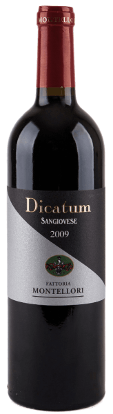 The Dicatum bears not only the signature of the Montellori wine house, but also that of a pure Sangiovese. Dicatum - Toscana IGT by Fattoria Montellori has a bouquet dominated by intense fruity cherry aromas and fragrant floral notes: This red wine gets its character and the final polish from the ageing in wooden barrels. He is an ideal complement to typical Tuscan cuisine. Awards of the Dicatum Toscana IGT of Fattoria Montellori Gambero Rosso: 2 Glasses (born 2006 and 2007) Duemilavini: 4 Grapes (born 2006,2007 and 2008).