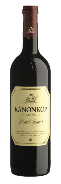 This lively cuvée matured for 25 months in French oak barriques. Paul Sauer from Kanonkop offers rich aromas of ripe fruit, rounded off by spicy notes, an elegant, velvety wine with a powerful structure and density. Serve this multi-faceted and distinctive red wine with grilled and spicy hard cheese.