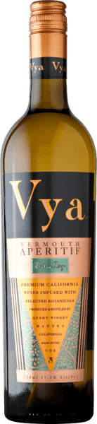 Vya Vermouth extra dry by Quady Winery presents itself in a dark golden yellow.  This American wormwood convinces the nose and the palate with floral aromas - from lavender to red clover to benedictine herb and gentian. A total of 15 different dried flowers and leaves are used for this wormwood.  Serving recommendation for the Quady Vya Vermouth extra dry For many festivities, the Quady Vya Vermouth extra dry is just the right aperitif.  Vermouth Extra Dry Vya Awards Wine Enthusiast: 90 points and Best of the year 2016 San Francisco Chronicle Wine Competition:  Silver Sunset International Wine Competition: Silver