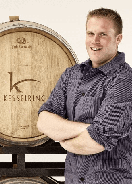 The winemaker Lukas Kesselring