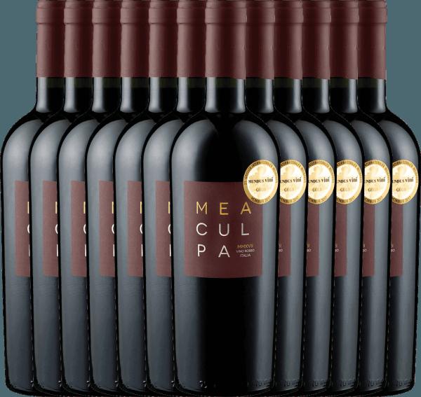 12er Vorteils-Weinpaket - MEA CULPA Vino Rosso Italia - Cantine Minini