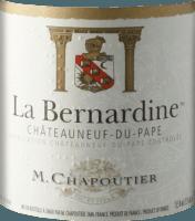 Vorschau: La Bernardine Châteauneuf-du-Pape AOC 2016 - M. Chapoutier