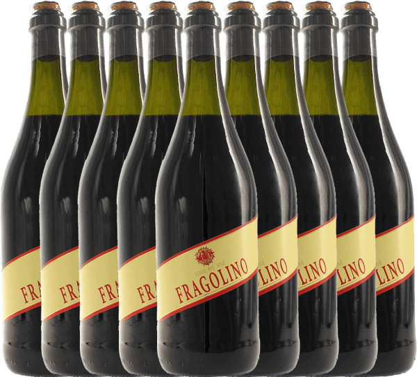 9-pack - Fragolino Rosso - Terre del Sole