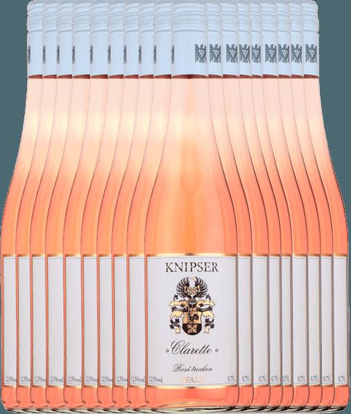 18er Vorteils-Weinpaket - Clarette Rosé 2020 - Knipser