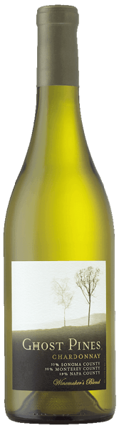 The Chardonnay by Ghost Pines presents itself in the glass in a straw yellow color. The aromas of spicy baked apple, pear, lemon cream with a hint of vanilla unfold. This Californian white wine is soft and buttery on the palate. This white wine is a modern Chardonnay. Vinification for the Chardonnay of Ghost Pines This Chardonnay is made from grapes from Sonoma County, Monterey County and Napa County. This results in expressive and fruity characteristics that reflect the particular terroir and lead to a concentrated and elegant overall impression. To give this white wine its buttery texture, it was stored on the lees and subjected to malolactic fermentation. Food recommendation for the Chardonnay of Ghost Pines Enjoy this dry white wine with lobster and seafood salad, poultry or creamy-nutty dishes. Awards for the Chardonnay of Ghost Pines Wine Spectator: 88 points Robert M. Parker: 87 points
