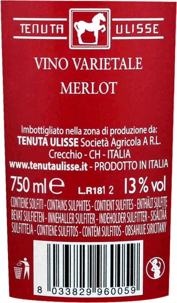 "The Merlot Rosato by Tenuta Ulisse is the rosé bestseller of top wines in Abruzzo. It comes into the glass with strong raspberry red and inspires not only the rosé friend, but every wine lover who likes powerful and expressive wines. First of all, fruity notes of ripe raspberries, cranberries, strawberries and cherries penetrate the nose. The fruit is complemented by floral notes, fine herbal spices and light citric nuances of pink grapefruit, kumquat and bergamot. Floral notes of hibiscus and bush rose complete the bouquet brilliantly. On the palate, the Ulisse Merlot Rosato starts with an animating, fruity prelude. Delightfully grippy, juicy and with vital acidity, this Italian rosé glides over the tongue. A feast for the senses. No wonder, then, that critic legend Luca Maroni made this wine from Ulisse part of his highest rating for the second time. Vinification of the Merlot Rosato by Tenuta Ulisse This lace pink car was vinified from 100% Merlot grapes grown around Crecchio in the Abruzzo province of Chieti. The vines here are rooted in sandy soils and have been able to dig their roots deep into the underground for 10-20 years. The sandy soil does not allow the vines too much water, which strengthens the depth and extent of the roots and makes the grapes grow particularly intensively, because not so diluted. After the hand-picking, the grapes immediately come into the cellar, are mashed and cold-macerated for 12 hours. After pressing the must, the fermentation takes place, which is followed by a three-month maturation period in the stainless steel tank. Food recommendation for Ulisse Merlot Rosato Enjoy this excellent rosé wine from Abruzzo with grilled fish, light poultry dishes and seafood. Awards for Ulisse Merlot Rosato Luca Maroni: 99 points for 2018 - ""One of the best rosé ever"" Luca Maroni: 99 points for 2017"