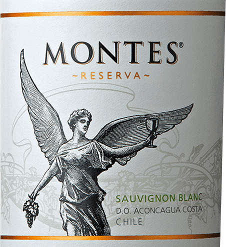 The Sauvignon Blanc Reserva of Montes delights the eye with a bright yellow and greenish highlights.An extremely intense and fresh bouquet of juicy gooseberries, mirabelles and citrus fruits - such as lime and grapefruit - delights the nose. Notes of fresh herbs, grass and white summer flowers complete the aromas of the nose. Also on the palate, this Chilean white wine is full of juicy aromas of gooseberries with herb-fresh citrus nuances. This is accompanied by slightly tropical hints of peach and passion fruit. This white wine has a juicy, fruity, aromatic character that is perfectly rounded off by the lively acidity. Vinification of Montes Reserva Sauvignon Blanc In the early cool morning hours the Sauvignon Blanc grapes are harvested. The harvested material is immediately taken to the wine cellar. The grapes are gently pressed and fermented at low temperatures in the stainless steel tank. This Chilean white wine is made exclusively in a stainless steel tank. This wine retains its wonderful fruit, lively acidity and aroma. Food recommendation for the Montes Sauvignon Blanc Reserva Serve this dry white wine from the Valle de Aconcagua as a refreshing aperitif or accompaniment to green salads and Cesar salad,sushi,ceviche, grilled crabs with garlic, chicken with limes and fresh pasta with spring vegetables.