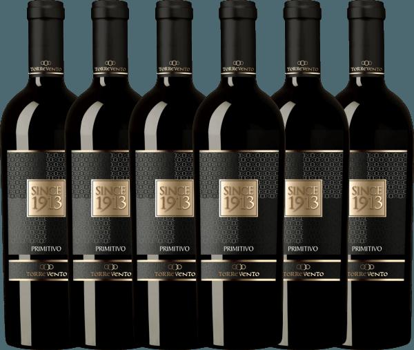 6er Vorteils-Weinpaket - Since 1913 Primitivo Puglia IGT 2016 - Torrevento