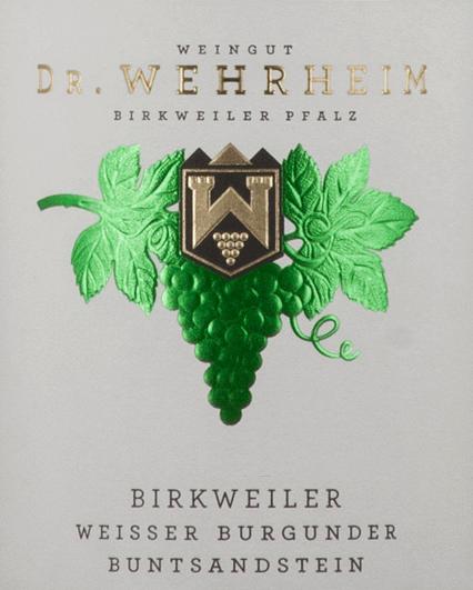 Birkweiler Weißer Burgunder Buntsandstein 2019 - Dr. Wehrheim von Dr. Wehrheim