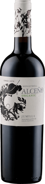 The Alceño Organic DOP by Alceño appears in the glass in a dense dark red and unfolds its varied bouquet. This consists of a harmonious interplay of the aromas of dried fruits and subtle nuances of smoke and mint. This Spanish cuvée from the Syrah, Garnache and Monastrell grape varieties is a perfectly balanced wine with abundance and a fresh acidity. This wine is rounded off by notes of vanilla, wood and ripe tannins. Food recommendation for the Alceño Organic DOP by Alceño Enjoy this dry red wine with strong dishes of beef and lamb. Awards for Alceño Organic DOP by Alceño Mundus Vini: Silver (Vintage 2015) International Wine Awards: Silver (Vintage 2015) Guia Penin: 88 points (vintage 2014) Guia Penin: 89 points (vintage 2013) Mundus Vini: Gold (vintage 2013)