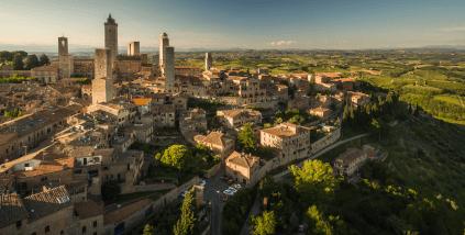 Panorama von Montepulciano