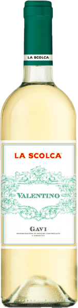 "This fine gavi acquires its freshness through the vinification of grapes from young Cortese vines. It has a tasteful acidity and is very exquisite. The history of Gavi is inseparably linked to the Scolca estate, which was the first to wine the Gavi white wine from pure Cortese grapes. If the wine-growing regions were classified as in France, La Scolca would be a ""Premier Cru"" region. For each wine, very personal methods of wine selection and wine preparation are used. Food Pairing/Food recommendation for  the Valentino Gavi DOCG from La Scolca Thanks to its gentle bouquet, it goes perfectly with starters as well as light meat and fish dishes, salads and light starters."