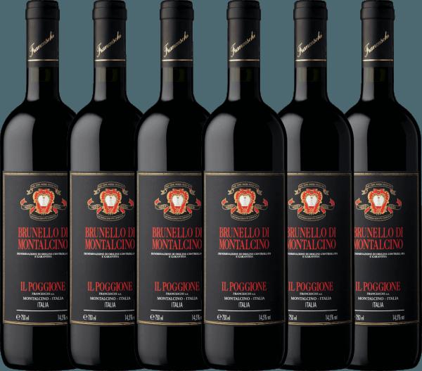 6er Vorteils-Weinpaket - Brunello di Montalcino DOCG 2014 - Tenuta il Poggione