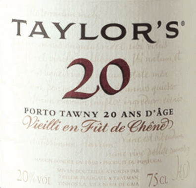 The Tawny 20 Years Old from Taylor's Port from the Portuguese wine-growing region DOC Douro is vinified from the grape varieties Tinta Amarela, Tinta Cao, Tinta Roriz, Tinta Barocca, Touriga Francesa and Touriga Nacional. This port is aged for two decades in oak barrels with a brilliant amber colour in the glass. The bouquet is complex and multi-layered and reveals intense aromas of baked apple, roasted almonds, cinnamon and honey, creating a Christmassy atmosphere. On the palate this port wine impresses with freshness, fruity acidity and soft, perfectly integrated tannins. The balanced, soft taste convinces with juicy, delicate aromas and a long finish. Vinification of Taylor's Port Tawny 20 Years old Matured Tawny with age indication requires first of all the art of blending and wise foresight on the evolution of the wine during its long maturing period in the barrel. Each Tawny is composed from the beginning for its specific age: 10, 20, 30 or 40 years and must always have its characteristic style and taste. Even if this port is always composed from different wines and vintages. The grapes for this wine are harvested exclusively by hand and brought to the Taylor's Port cellar, where they are destemmed and fermented in open stainless steel tanks. As soon as half of the sugar is fermented, the fermentation process is stopped by adding high-proof distillate. This preserves the natural residual sweetness of this wine. Finally this Port wine matures for 20 years in wooden barrels, until it is filled on the bottle. Food recommendation for the Taylor's Tawny 20 Years Enjoy this port with all kinds of sweet desserts with honey, nuts and almonds, chocolate cake or also with matured hard cheeses and blue cheese. Awards for the 20 Years Old Tawny Taylor's Port Wine Spectator: 93 points Robert M. Parker - The Wine Advocate: 93 points