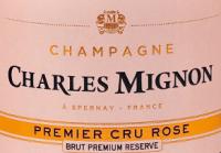 Vorschau: Brut Rosé Premium Réserve Champagne AOC - Charles Mignon