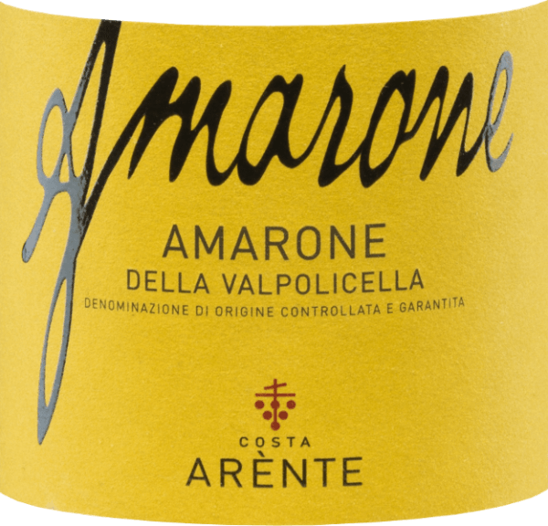 The Amarone della Valpolicella from Costa Arènte is a full-bodied, expressive red wine from Italy and is vinified from Corvina (50%), Corvinone (20%), Rondinella (15%) and other red grape varieties (15%). The colour in the glass is reminiscent of a radiant ruby with purple reflections. The bouquet convinces the nose with its strong, multi-layered aromas - very present are red and black fruits (sour cherry, black currant and raspberries) - accompanied by spicy hints of liquorice, tobacco and black pepper. This Italian red wine has a wonderful elegance on the palate, which reflects the fruity-berry aromas of the nose. Add notes of plum and vanilla. The fresh, balanced acidity harmonizes perfectly with the firm tannins. The concentrated finale comes with a sustained length. Vinification of the Costa ArènteAmarone The hand-picked grapes grow on slopes on marl soils made of calcareous rock in the Dolomites in the Italian region of Veneto -D.O.C.G. Amarone della Valpolicella. After the very careful harvesting and selection of the grape estate, it is brought to the winery ofCosta Arènte. There, the grapes are gently pressed and the resulting mash is fermented in stainless steel tanks under temperature control. The 36-month ageing in a large wooden barrel (25 hl and 5 hl) ensures the wonderful variety of aromas, the dense colour and the firm tannin structure. Food recommendation for the Amarone della Valpolicella Costa Arènte This dry red wine from Italy is a wonderful soloist that should be decanted before enjoyment. But this wine is also a great accompaniment to roast deer, venison or wild boar ragout. Awards for the Amarone of Costa Arènte Mundus Vini: Gold for 2013