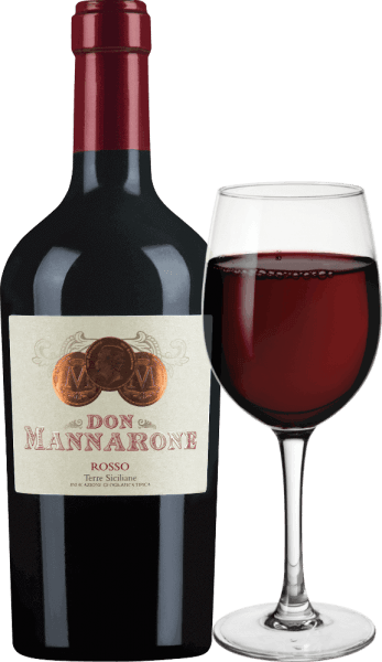 The Don Mannarone Terre Siciliane by Mánnara appears in a strong dark red in the glass. In the nose, full-fruity aromas of ripe, red berry fruits are immediately noticeable. The palate is full of Baroque opulence. Here the berry fruit aromas (especially cassis, plums, juicy blackberries and sour cherries) are found and are complemented by the scent of Mediterranean herbs (thyme) and warm spices (vanilla, pepper). The tannin is delicate and very fine, the acid is excellently integrated. The reverberation is extremely long and you can see that Don Mannarone is the flagship of the winery. Here again the full berry fruit and the warm spices come to the fore. Vinification of Don Mannarone Rosso Mánnara Mánnara's Don Mannarone IGT Terre Siciliane is a cuvée made from Nero d 'Avola, Merlot and Syrah. The grapes grow in the western part of Sicily under the best conditions. The soil consists largely of silicate-rich clay. After the gentle harvest, the grapes are brought to the winery, mixed there and aged separately in stainless steel and in barrique barrels. After ageing, the wine is cuvéed. Named after the founder of the winery, Don Mannaroneresembles the northern Italian Amarone in its style due to its abundance of aromas and the subtle, but well-integrated residual sugar. Food recommendation for the Rosso Don Mannarone The Don Mannarone Rosso from Mánnara is the ideal accompaniment to dishes with dark meat, savoury sauces and various winter vegetables at 16-18°C. But it is also an excellent meditation wine in itself, which can accompany a sociable evening.