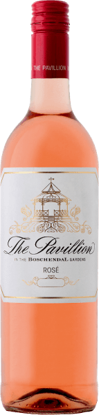 The Pavillion Shiraz Rosé by Boschendal shines in the glass in a soft salmon color. In the bouquet convince mature aromas of summer fruits such as strawberries and red cherries. On the palate, it is refreshing and crisp with a delicate fragrance that makes you feel like summer. Food pairing to the Shiraz Rosé from the Boschendal Winery The pavilion Shiraz Rosé from Boschendal is the ideal companion for duck, calamari and puff pastry.