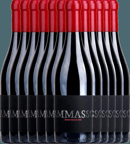 12er Vorteils-Weinpaket - Ammasso Rosso Sicilia IGT 2018 - Barone Montalto