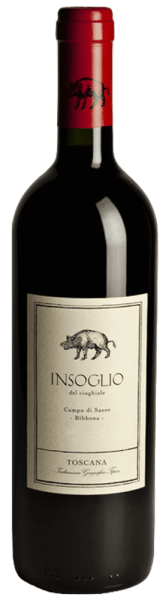 The Insoglio del Cinghiale Toscana IGT by Tenuta Campo di Sasso of the Tenuta di Biserno glows dark red in the glass. On the nose, this young terroir wine from Maremma shows an expressive personality, fruity, with intense aromas of dark fruits, blackberries, fine floral notes, spicy, peppery notes and a hint of spicy oak notes in the background. On the palate, the wonderfully balanced, medium-weight body with fine structure, full-bodied, fleshy, round, with sweet tannins. A wine that tastes very good at a young age, but gains in abundance, balance and complexity with a little storage. The finish is long lasting, harmonious and spicy in reverberation. Vinification of the Insoglio del Cinghiale Campo di Sasso Toscana IGT by Tenuta Biserno This youthful red wine is the base wine and terroir cru of Tenuta Biserno, supple and maturing early, which has quickly found its lovers and has been produced since 2003. It originates in the Campo di Sasso vineyard, which belongs to the Tenuta di Biserno, but is separate from it. Campo di Sasso is located southwest of Biserno, close to the sea and the town of Bibbona, and comprises three plots with a total of 46 hectares. The soils are very different from those in Biserno, they are mostly sandy, with good drainage and low clay content. The temperatures here are slightly higher. The warm, sandy soils and the warmer, Mediterranean climate are particularly favourable for Syrah. The Insoglio del Cinghiale is vinified from Syrah 34% and a blend of Merlot, Cabernet Franc, Cabernet Sauvignon and Petit Verdot. The harvest takes place between mid-August and middle-end of September. The grapes are strictly selected after harvesting in the wine cellar with the aid of a vibrating conveyor belt. They are then destemmed and gently pressed. Alcoholic fermentation lasts 14 to 21 days at controlled temperatures, followed by malolactic fermentation, 10% in oak barrels, the remaining 90% in stainless steel tanks. 40% of the wine is then aged for 4 mon