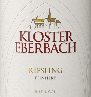 Riesling feinherb von Kloster Eberbach is a wonderful, grape varietal white wine from the German wine growing region Rheingau. In the glass, this wine shimmers in a clear straw yellow with glittering highlights. The fruity-fresh bouquet reveals aromas of citrus fruits and juicy peaches. This is accompanied by hints of ripe nuts and a mineral touch. On the palate, the sweet fruit dominates with vegetarian, herbaceous notes. The mineral notes of the nose harmonize wonderfully with the fine acidity. The finale is accompanied by a sweet reverberation. Food recommendation for the monastery Eberbach Riesling feinherb Enjoy this semi-dry white wine from Germany with Asian and Indian cuisine. Or pass this wine to all kinds of sausage and ham specialities.