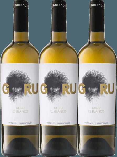 3er Vorteils-Weinpaket - Goru El Blanco 2019 - Ego Bodegas