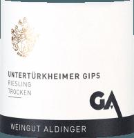 Vorschau: Untertürkheimer Gips Riesling trocken 2020 - Aldinger