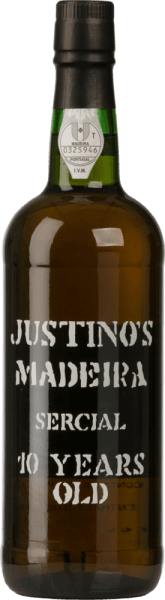 The Sercial 10 Years Old from Vinhos Justino Henriques is a wonderful Madeira of pure grape variety. In the glass this wine shines in a light reddish brown with golden reflections. The fresh aroma inspires the nose. Aromas of fresh walnuts and acacia honey unfold. The classic notes of dried fruit are also present in the bouquet and on the palate. The personality is wonderfully lively and has a medium-length, warm-hearted finish. Vinification of Justino Henriques Sercial The Sercial grapes come from 17-year-old vines grown on limestone and sandstone on the small island of Madeira. After harvesting and selection, the grapes are fermented in stainless steel tanks at a controlled temperature. This wine is then aged for at least 10 years in used wooden barrels. These are married from several wines, which were all produced by the individual vinification of white grapes and which have spent at least 10 years in oak barrels before the bottling. Food recommendation for the Sercial Justino Henriques 10 Years Old Enjoy this dry Madeira as a welcome aperitif to all kinds of festivities.