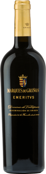 The Emeritus Dominio de Valdepusa from Marques de Grinon is an expressive, complex red wine cuvée from the Cabernet Sauvignon (83%), Petit Verdot (11%) and Syrah (6%) grape varieties.  In the glass, this Spanish wine shines in  a dark ruby red with slight violet reflections. The intense and complex bouquet shows complex aromas of dark red and black forest berries, complemented by mint, fine cedar wood, wild roses, cloves, lavender and peppers. On the palate, this cuvée reveals itself as a spectacular and extraordinary wine of enormous length. Vinification of the Marques de Grinon Emeritus  The grapes grow in the Spanish cultivation region  D.O. Dominio de Valdepusa on 5 year old vines. The soils are rich in lime and clay. The reading period starts in mid-September and lasts until mid-October. The grapes are carefully picked by hand and strictly selected. The vineyard is gently pressed in  the wine cellar of Marques de Grinon. The resulting mash is then fermented in stainless steel tanks in a temperature-controlled manner. This Spanish red wine is rounded off for a total of 24 months in French oak wooden barrels.  Food recommendation for  the Emeritus Dominio de Valdepusa Marques de Grinon Enjoy this dry red wine from Spain with game dishes - especially deer roast or venison spine with cranberries. You should decant this red wine from Pago Dominio de Valdpusa at an early stage before enjoying it. Awards for  the Emeritus Marques de Grinon Vinous: 92 points for 2011 Guìa Peñìn: 94 points for 2011 Wine Enthusiast: 92 points for 2011