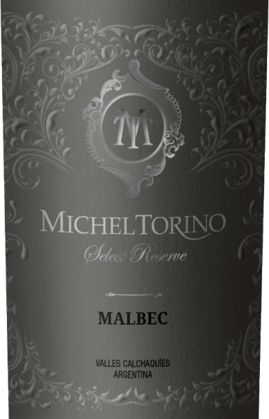 Michel Torino's Select Reserve Malbec's red colour is interspersed with violet highlights and looks lively, deep and radiant. Aromas unfold in the nose reminiscent of plum jam, raisins, pipe tobacco, vanilla, chocolate and smooth, harmonious oak notes. On the full palate of Argentinian red wine, sweet, round, soft and fully ripe tannins and harmonious impressions of dried fruits, chocolate aromas, oak wood and ripe fruits are noticeable. A long and appealing finish rounds off this red wine. Vinification of the Malbec Select Reserve Michel Torino The harvest of Malbec grapes takes place by hand. For 12 months, 70% of the wine is aged in wood. 60% of the red wine is aged in French and 40% in American barriques. Food recommendation for the Select Reserve Malbec Michel Torino Serve this long-lasting and elegant drop with flavour-intensive dishes such as steaks, roasts and game, but also with chocolate and cheese. Awards for Torino Select Reserve Malbec Wine Spectator: 90 points for 2017 Wine world: 90 points for 2014 Wine Spectator: 90 points for 2014