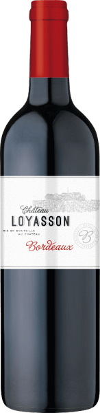The Château Loyasson Bordeaux AOC by Château Loyasson is ruby red with violet reflections in the glass. The bouquet seduces with spices, tobacco and a fruity cassis note. The taste is soft and velvety, very present with a long, gentle finish. A wonderful wine for every day for an excellent price! Food pairing for Château Loyasson Bordeaux AOC by Château Loyasson Try this tasty red Bordeaux with stewed meat and game, roasted poultry, fish fried or grilled, matured red and hard cheese