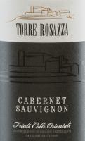 Vorschau: Cabernet Sauvignon DOC2015 - Torre Rosazza