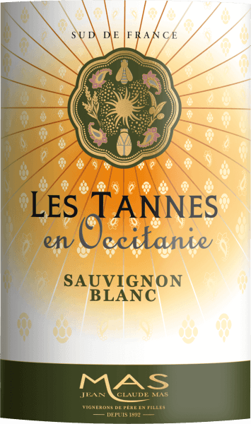 In the glass the Sauvignon Blanc Pays d'Oc from Les Tannes en Occitanie shows a brilliant shimmering light yellow colour. The first nose of Sauvignon Blanc Pays d'Oc reveals nuances of morello cherries, black cherries and plums. The fruity parts of the bouquet are joined by even more fruity-balsamic nuances. The Sauvignon Blanc Pays d'Oc from Les Tannes en Occitanie is the right choice for all wine lovers who like as little residual sweetness in the wine as possible. But it is never sparse or brittle, as you would expect from a wine beyond the supermarket. On the tongue, this light-footed white wine is characterised by an incredibly light texture. Due to the balanced fruit acidity, the Sauvignon Blanc Pays d'Oc flatters with a soft mouthfeel, without losing its juicy liveliness. The finale of this mature white wine from the Languedoc wine growing region, or more precisely from Coteaux du Languedoc, finally inspires with a beautiful aftertaste. Vinification of Les Tannes en Occitanie Sauvignon Blanc Pays d'Oc The basis for the elegant Sauvignon Blanc Pays d'Oc from the Languedoc are grapes from the Sauvignon Blanc grape variety. After the harvest, the grapes are taken to the winery by the quickest route. Here they are sorted and carefully broken up. Fermentation follows in stainless steel tanks at controlled temperatures. Once fermentation is complete, the Sauvignon Blanc Pays d'Oc can continue to harmonise on the fine yeast for several months. Food recommendation for Les Tannes en Occitanie Sauvignon Blanc Pays d'Oc Experience this white wine from France best chilled at 8 - 10°C as an accompaniment to fruity endive salad, spaghetti with yoghurt-mint pesto or omelette with salmon and fennel.