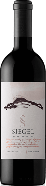 The unique selection of Vina Siegel is an unforgettable cuvée from the Cabernet Sauvignon (45%),Carménère (35%) and Syrah (20%) grape varieties. A wonderful violet colour shimmers in the glass. The bouquet pampers with expressive aromas of red berries - especially raspberry and red currant and varied spice notes. The aromas of the nose are accompanied by nuances of red pepper, freshly ground coffee and some tobacco. On the palate, this Chilean red wine shows itself with a soft, well-integrated tanning structure and wonderful complexity. The finale is wonderfully long and enduring. Vinification ofthe Unique Selection The grapes for this red wine from Chile come from the growing areas ofColchagua Valley and Central Valley. After maceration fermentation for 2-3 weeks, malolactic fermentation takes place in barriques. To give the Unique Selection its distinctive character, it is aged for 16 months in barriques and matured for another 6 months in the bottle. Food recommendation for the Viña sealUnique Selection Enjoy this dry red wine with beef roulade with red cabbage and parsley potatoes, chicken curry with basmati rice or with spicy cheeses. Awards for the unique selection Tim Atkin: 94 points for 2013 Descorchados: 94 points for 2013 Carménère al Mundo: Gold for 2013 Concours Mondial de Bruxelles: Grand Gold for 2013 International Wine & Spirit Competition: Silver for 2013