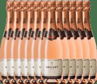 12er Vorteils-Weinpaket - Crémant Brut Rosé Excellence - Bouvet Ladubay