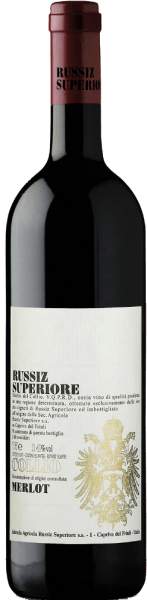 This pure Merlot shows a deep red with garnet shades in the glass.The characteristic fine scent of cherries and berries is interspersed with fine vanilla shades. The taste of Merlot DOC Collio from Russiz Superiore is juicy and fruity with a long, long finish. The young red wine is aged for 12 months in small wooden barrels and matures for another 6 months on the bottle. Food Pairing/Food recommendation forthe Merlot DOC Collio by Russiz SuperioreServe this Italian red wine with pizza and pasta as well as spicy chicken and turkey dishes or simply enjoy it on the terrace or balcony. Awards for the Merlot DOC Collio by Russiz SuperioreParker Punkte - Wine Advocate: 89 points (Vol. 08)